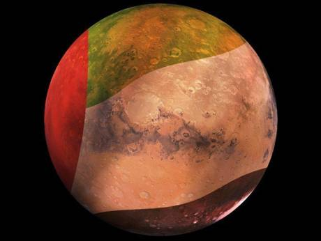 In first, UAE unveils unmanned Mars mission