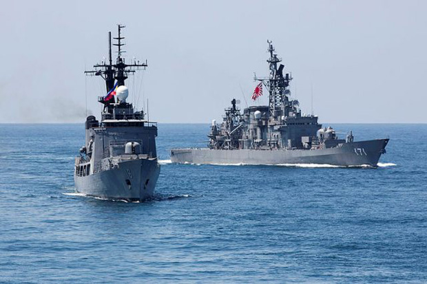 China calls Japan foreign policy 'two-faced'