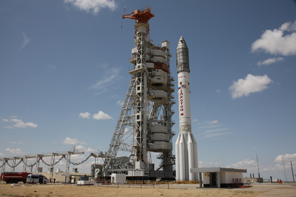 Russian rocket with Mexican satellite crashes in Siberia