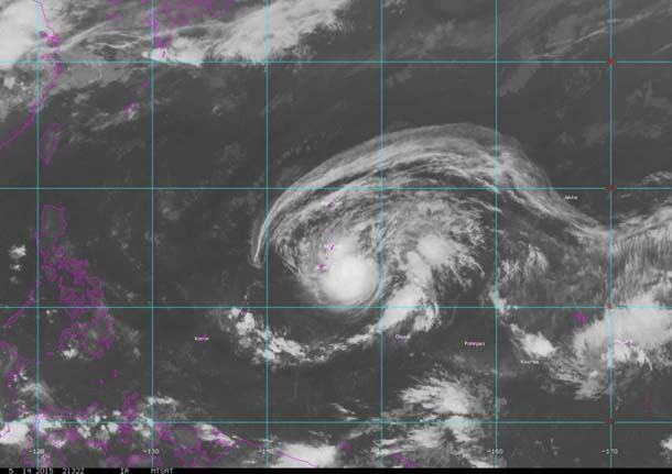 At least 3 dead as typhoon sweeps through Philippines