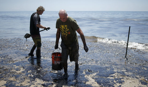 Oil spill disasters in the past 50 years