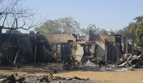 Boko Haram destroyed over 1,000 schools this year