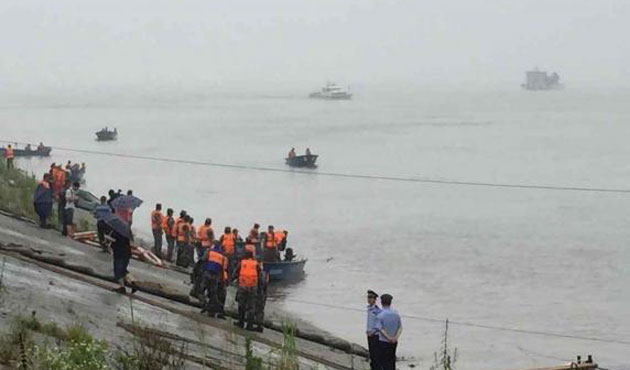 Captain of capsized Chinese vessel detained