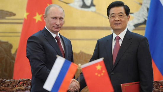 Russia and China unite over sanctions