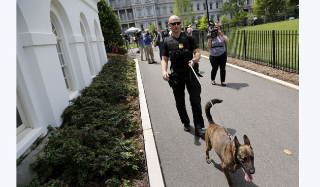 Parts of White House evacuated after bomb threats