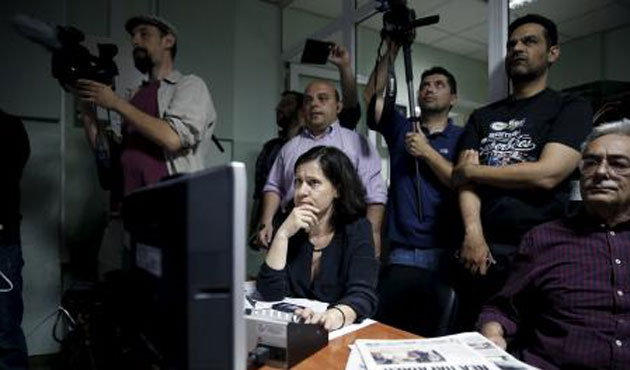 Greek State television re-opens