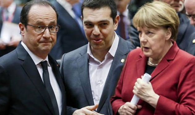 Greece, Germany and France agree to intensify talks