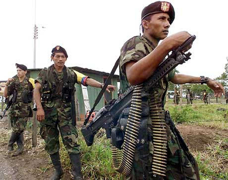 Colombian FARC rebels kills 2 police officers