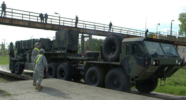 Poland in talks on stationing US army equipment