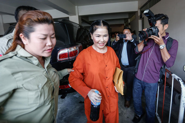 Cambodian general gets jail on illegal weapons charges