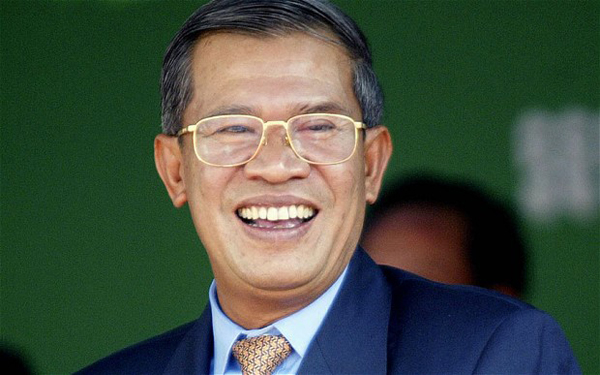 Cambodian PM Hun Sen elected ruling party president