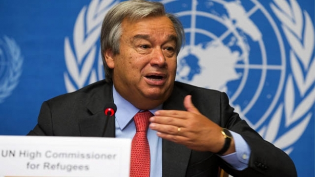 UN chief arrives for first Israel-Palestine visit