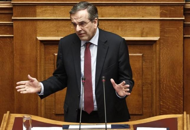 Greek opposition leader to hold talks with president