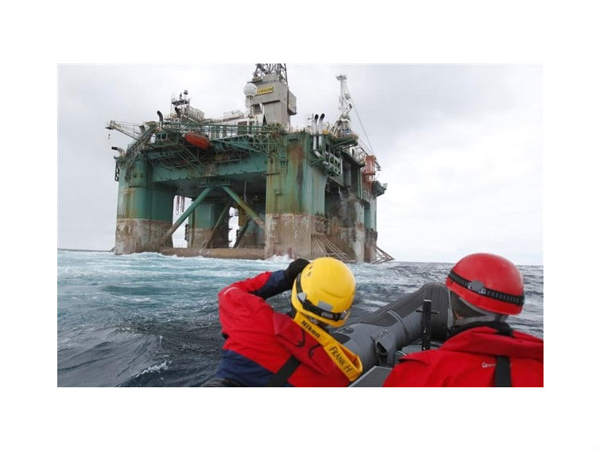U.S. activists to protest against Shell Arctic oil rig