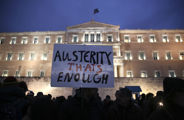 For Japan, lesson from Greek crisis is to keep on spending