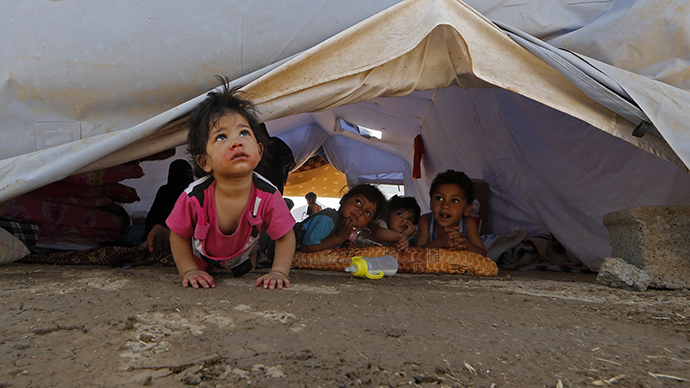 Iraq to set up refugee camp with 500 caravans in Anbar