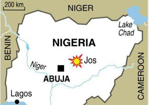 Two blasts hit central Nigerian city of Jos