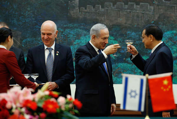 Israel-China boost financial protocol by $500 mn