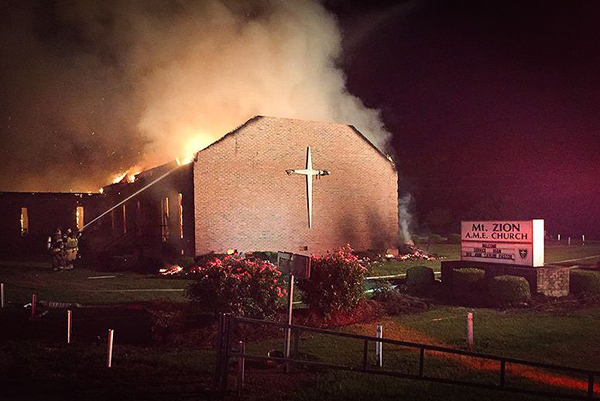 Crowdfunding by Muslim activists rebuild burnt churches