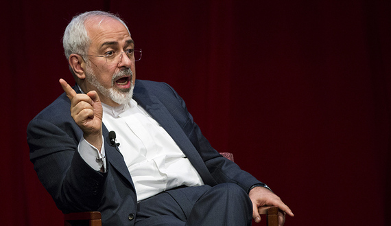 Zarif's warning to the West: Don't threaten an Iranian