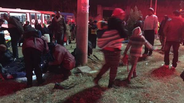 239 injured in South Africa train collision