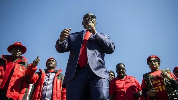 S. Africa throws out Julius Malema case