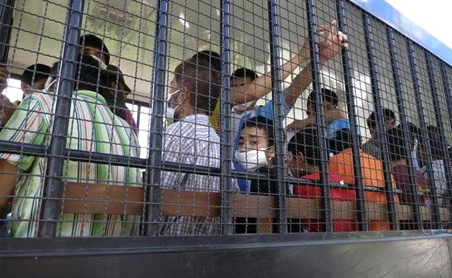 Uighurs deported from Thailand to China still detained
