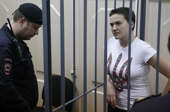 Russia: exchange imprisoned pilot for 'path to Crimea'
