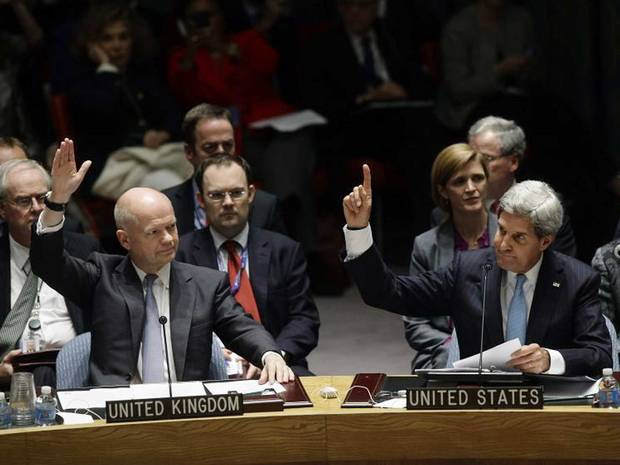 UN adopts resolution on Syria chemical weapons probe