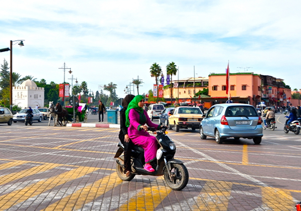Marrakech: Morocco's capital of motorcycles