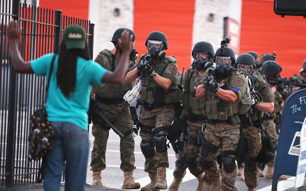 State of emergency declared in Ferguson after protests