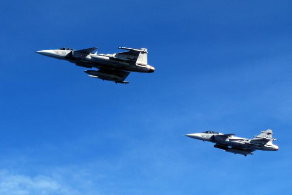 Swedish spy planes fly over Russia to monitor military