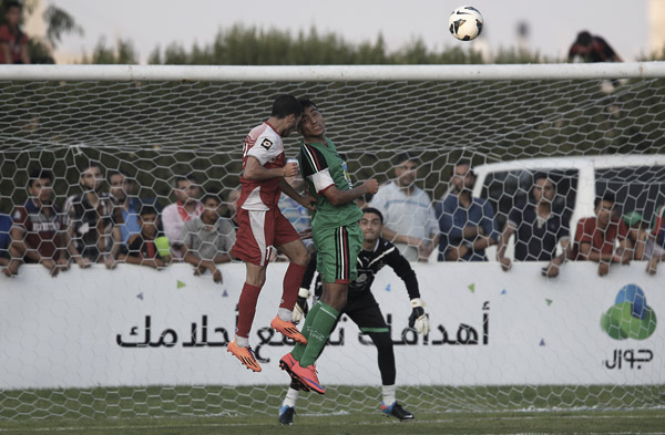 Gaza players travel to West Bank for football cup final