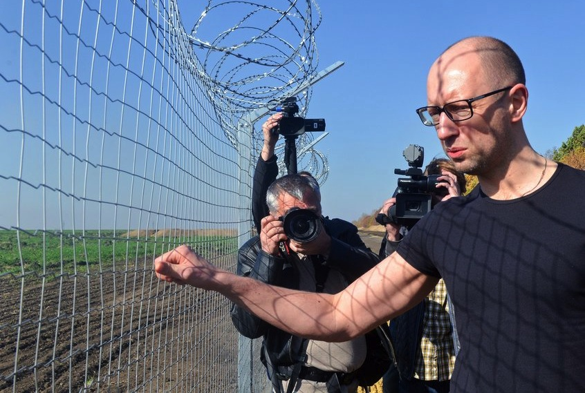 Ukraine bid to shut out Russia with border 'wall' falters