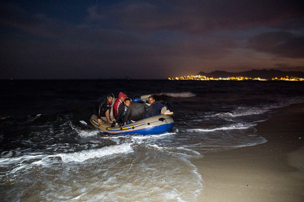 Five Syrian refugees die trying to reach Greece's Kos