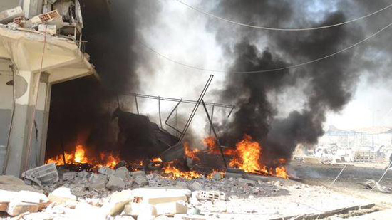 Suicide bomber hits Kurdish security agency in Syria-UPDATE