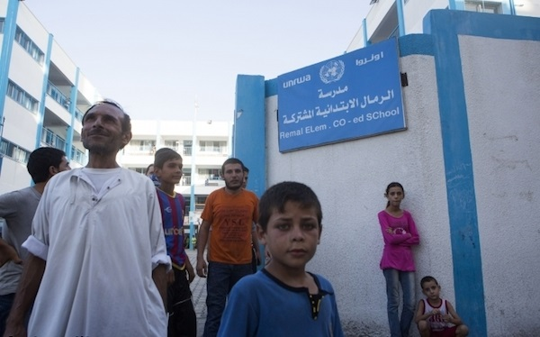 Palestinian refugee schools to open on time