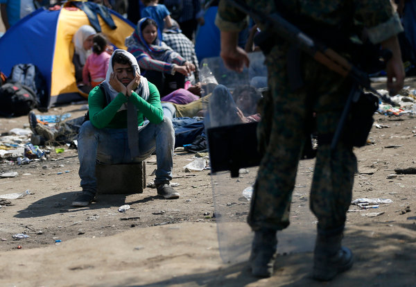 Macedonia to allow 'vulnerable' migrants to cross border