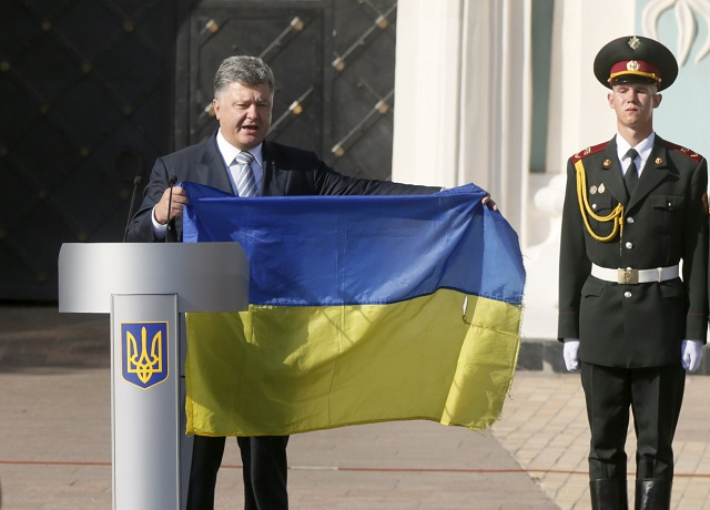 Ukraine leader urges unity to bring change