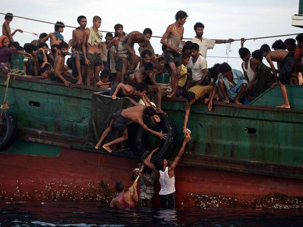 Myanmar sends 125 more boat people back to Bangladesh