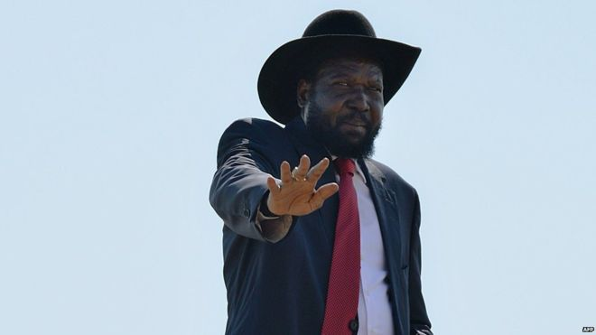 South Sudan president signs deal to end conflict