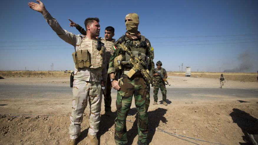 Peshmergas launch new assault on ISIL in northern Iraq