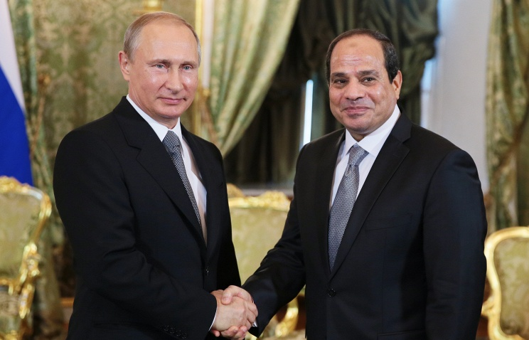 Putin hopes citizens will benefit from Russia-Egypt relations
