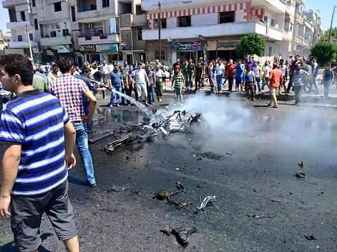 Missile, car bomb attack in Syria leaves 4 dead, 19 injured