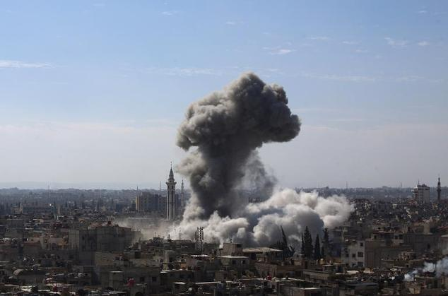 Syrian regime airstrikes kill 21 in East Ghouta