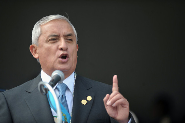 Guatemalan Congress strips president of immunity