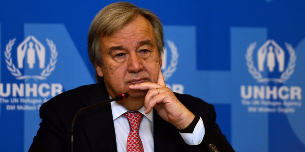 UN chief supports embattled Syria commission