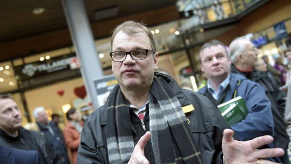 Finland PM says seeking end to coalition with eurosceptics