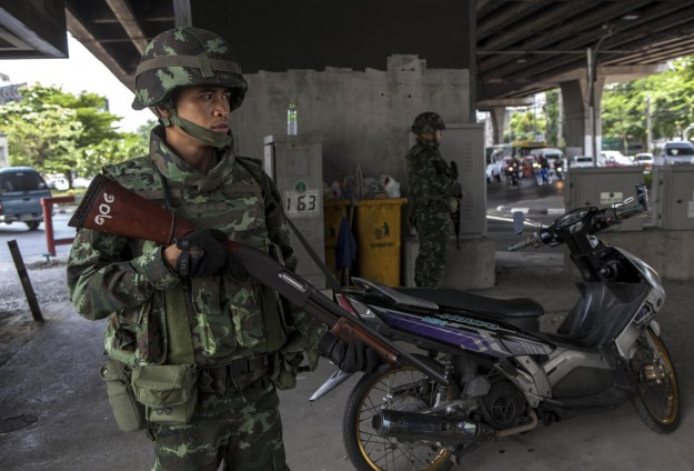 Thai security head says violence down in Muslim south