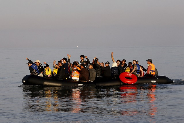 Refugees trying to reach Greece via Aegean on the rise